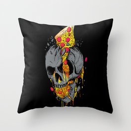 Rest in Pizza Throw Pillow