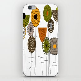 Autumn Blooms iPhone Skin