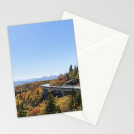 The Linn Cove Viaduct a 1243-ft concrete segmental bridge on the Blue Ridge Parkway near Linville No Stationery Cards