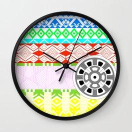 Geometrias de la imaginacion Wall Clock
