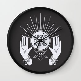 Weird Future Wall Clock