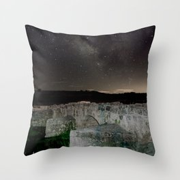 Roman bridge Throw Pillow