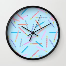 Making Wishes Wall Clock