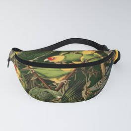 Floral and Birds XXXVI Fanny Pack