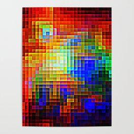 COLORFUL Pixels Poster