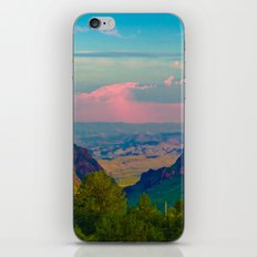 Chisos Mountain Park Big Bend Texas iPhone Skin