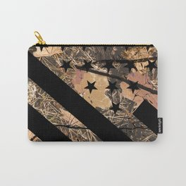 Hunting Camouflage Flag 3 Carry-All Pouch