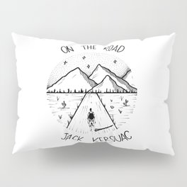 On the road - Jack Kerouac Pillow Sham