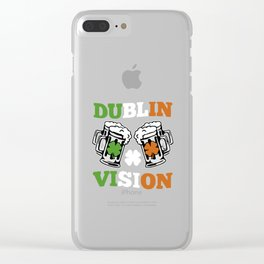 Dublin Vision Clear iPhone Case