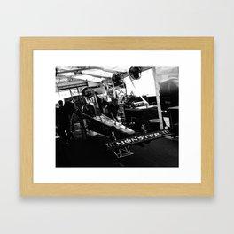 The Lair Framed Art Print