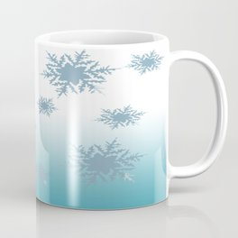 A Chilly Frozen Winter at Christmas Time in the Snow Coffee Mug