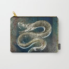 Gothic Snake Skeleton Carry-All Pouch
