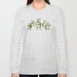Dancing Turtles Long Sleeve T-shirt