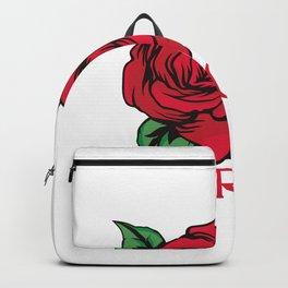 I'm A Wild Rose Backpack