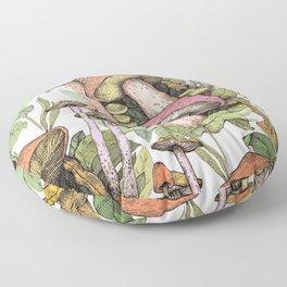 mushroom life Floor Pillow