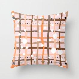 Cute STripes Throw Pillow