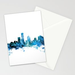 Milwaukee Wisconsin Skyline Stationery Cards