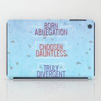 divergent iPad Cases featuring Truly Divergent by Tiffany 10