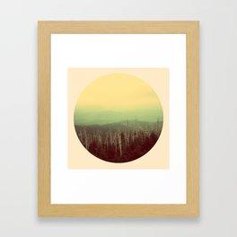 Mts. Framed Art Print