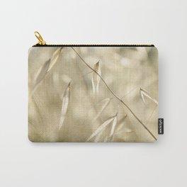 Soft Golden Field Carry-All Pouch