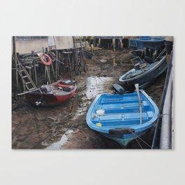 Upstream And Downstream Canvas Print