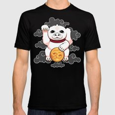 Lucky Dragon MEDIUM Black Mens Fitted Tee
