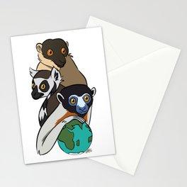 World Lemur Day 2017 Stationery Cards