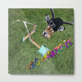 420 Graze It Metal Print