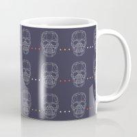 skulls Mugs featuring Skulls by Hipster