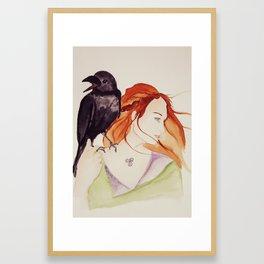 Goddess Ériu Framed Art Print