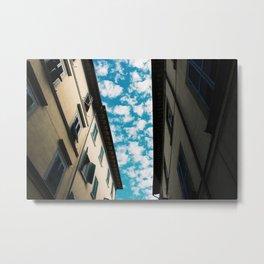 Cortona Skies Metal Print