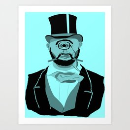 The Greatest Mustache Unknown to Man Art Print