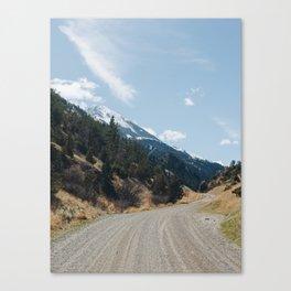Pray, Montana Canvas Print