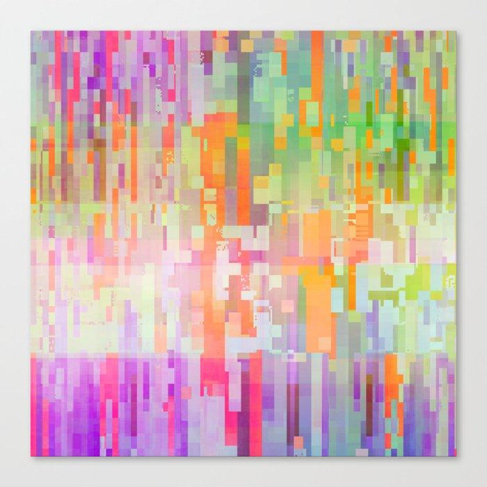 colorful rain Canvas Print