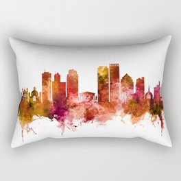 Dayton Ohio Skyline Rectangular Pillow