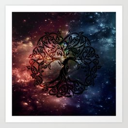 Viking Tree of life Art Print