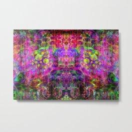 Mauve Man (abstract, psychedelic, visionary) Metal Print