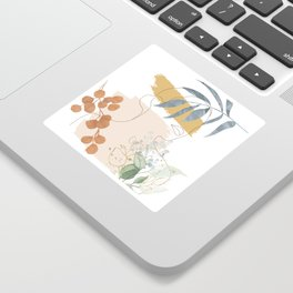Line in Nature II Sticker