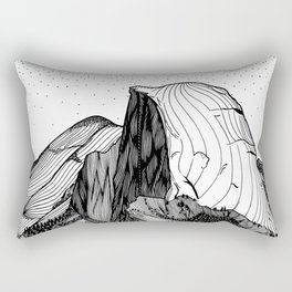 Half Dome Rectangular Pillow