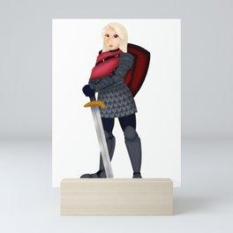 Cath Mini Art Print