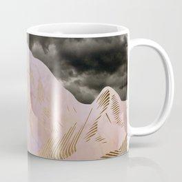 Pink Marple Mountains Coffee Mug