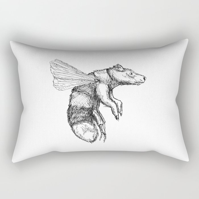Bumblebear Rectangular Pillow
