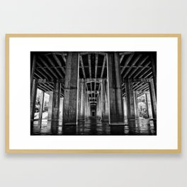 River Cathedral Framed Art Print