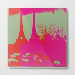 PARIS_ig2 Metal Print