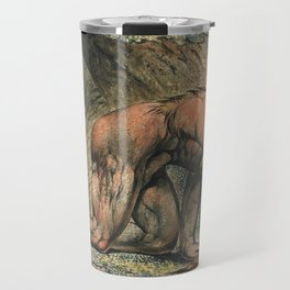 William Blake - Nebuchadnezzar, 1795 Travel Mug