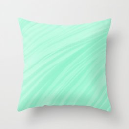 Brush strokes Throw Pillow