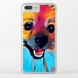 Pomeranian 2 Clear iPhone Case