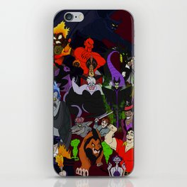 Villains Gallery iPhone Skin