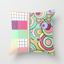 Color Fantasia No.9 Throw Pillow