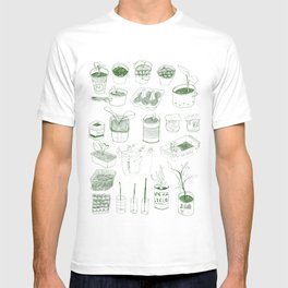 Cover, CONTAIN, Compost - 2 of 3 T-shirt
